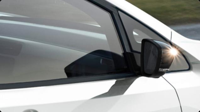 Aerodynamické spätné zrkadlá